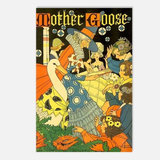 Vintage Mother Goose Postcards (Package of 8)