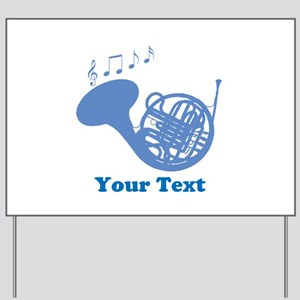 French Horn Customized Yard Sign
