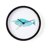 Whitemargin Unicornfish Wall Clock