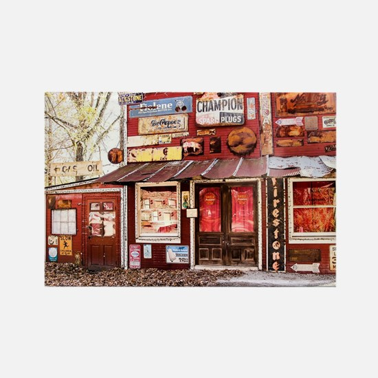 The Old Country Store Rectangle Magnet