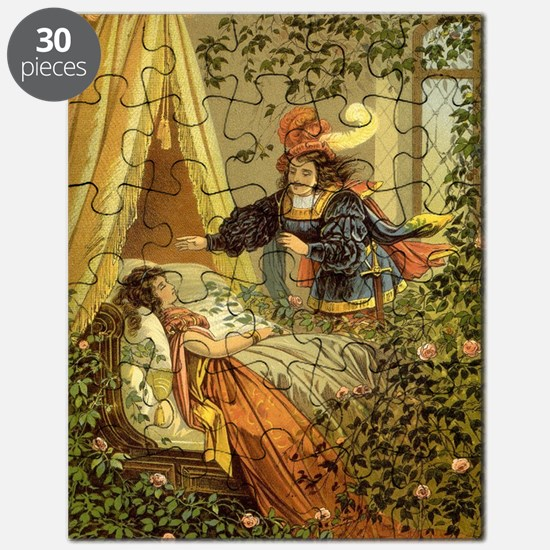 Vintage Sleeping Beauty Puzzle