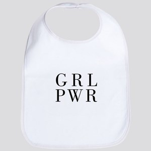 grl pwr Baby Bib