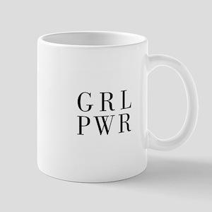 grl pwr Mugs