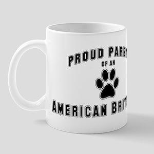 American Brittany: Proud pare Mug