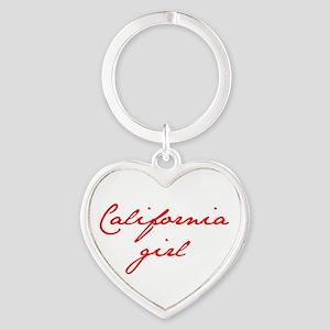 california-girl-jan-red Keychains