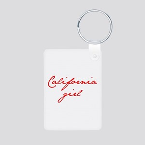 california-girl-jan-red Keychains
