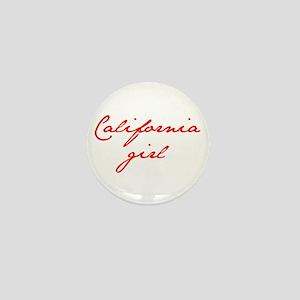 california-girl-jan-red Mini Button