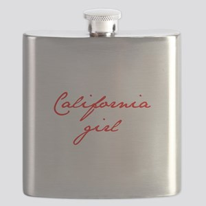 california-girl-jan-red Flask
