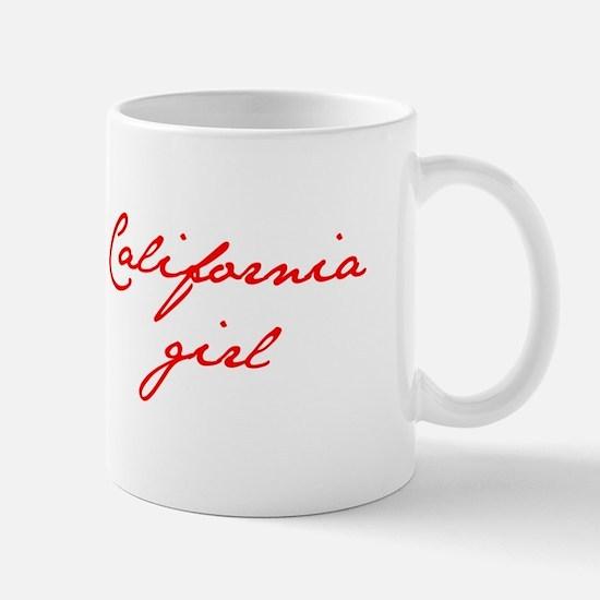 california-girl-jan-red Mugs