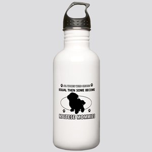 maltese mommy designs Stainless Water Bottle 1.0L