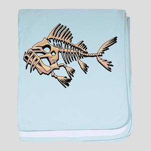 Skello Fish baby blanket