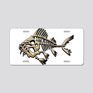 Skello Fish Aluminum License Plate