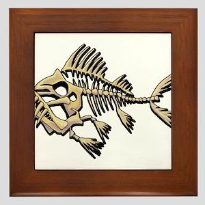 Skello Fish Framed Tile