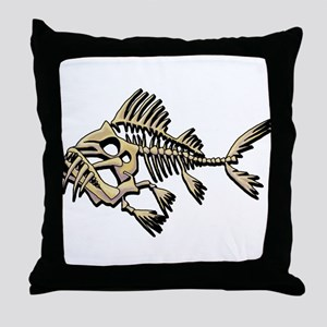 Skello Fish Throw Pillow