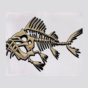Skello Fish Throw Blanket