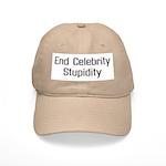End Celebrity Stupidity Cap