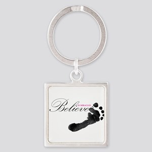 Believe in Miracles Keychains