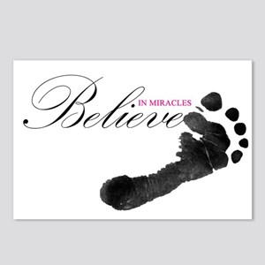 Believe in Miracles Postcards (Package of 8)