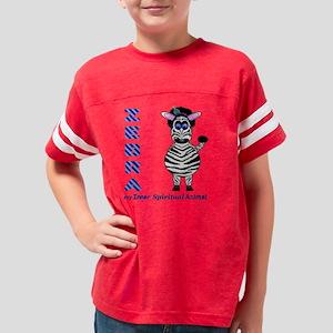 Zebra Spirit Youth Football Shirt