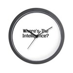 Where's the Intelligence Wall Clock