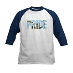 Drums Pride Kids Baseball Jersey