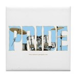 Drums Pride Tile Coaster