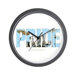 Drums Pride Wall Clock