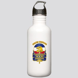 DUI - FORSCOM with Text Stainless Water Bottle 1.0