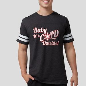 Baby Its COLD Mens Football Shirt