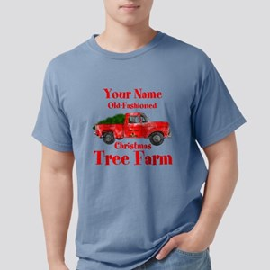 Custom Tree Farm Mens Comfort Colors Shirt