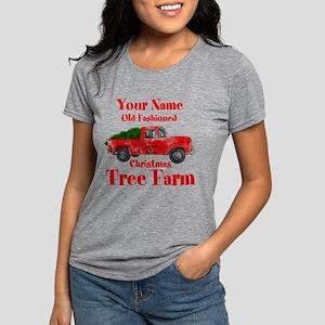 Custom Tree Farm Womens Tri-blend T-Shirt