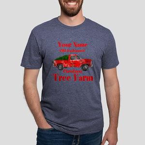 Custom Tree Farm Mens Tri-blend T-Shirt