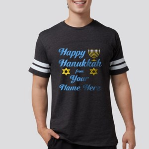 hanukkah Mens Football Shirt