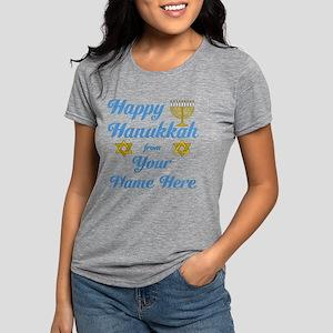 hanukkah Womens Tri-blend T-Shirt