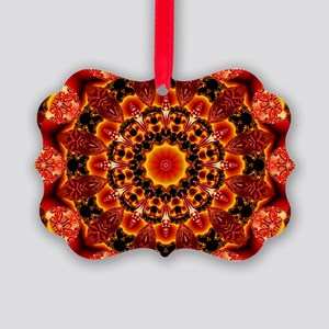 Firewalk Abstract Picture Ornament
