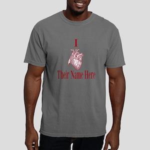I Heart You Mens Comfort Colors Shirt