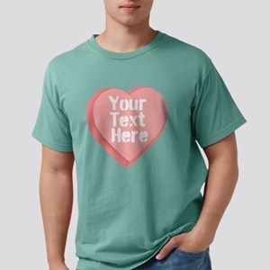 Candy Heart Mens Comfort Colors Shirt