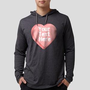 Candy Heart Mens Hooded Shirt