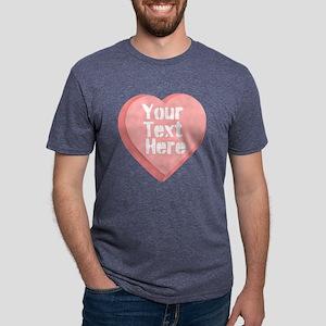 Candy Heart Mens Tri-blend T-Shirt
