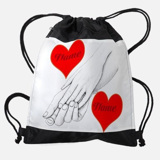 Custom Romance Drawstring Bag