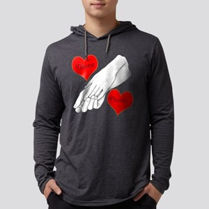 Custom Romance Mens Hooded Shirt