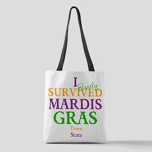 Your Mardis Gras Polyester Tote Bag