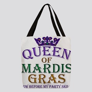mardis queen Polyester Tote Bag