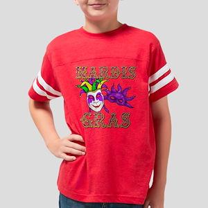 mardis gras Youth Football Shirt