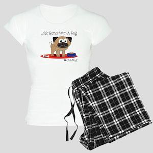 Fawn Pug Pajamas