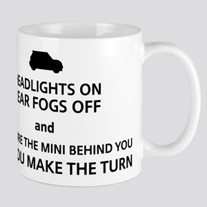 Rally Rules - Black Mugs