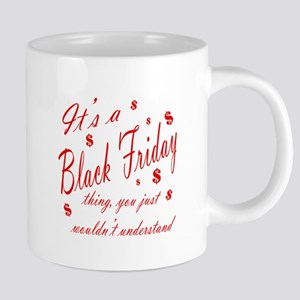 black friday thing 20 oz Ceramic Mega Mug