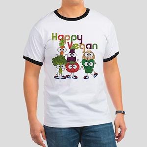 Happy Vegan Ringer T