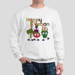 Happy Vegan Sweatshirt
