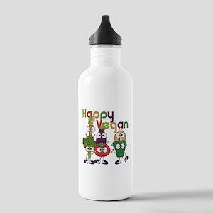 Happy Vegan Stainless Water Bottle 1.0L